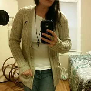 Abercrombie and Fitch Oatmeal Cardigan